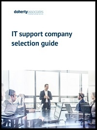 IT support company selection guide