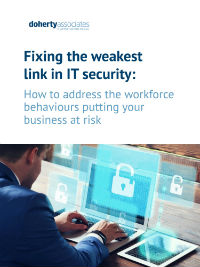 Fixing the weakest link in IT security